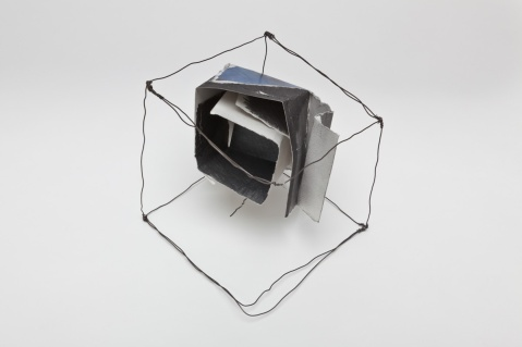Insect Cube. open side view.