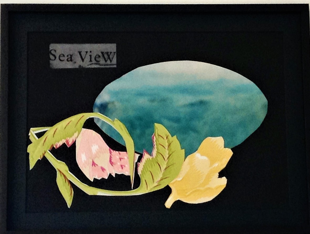 Sea view framed